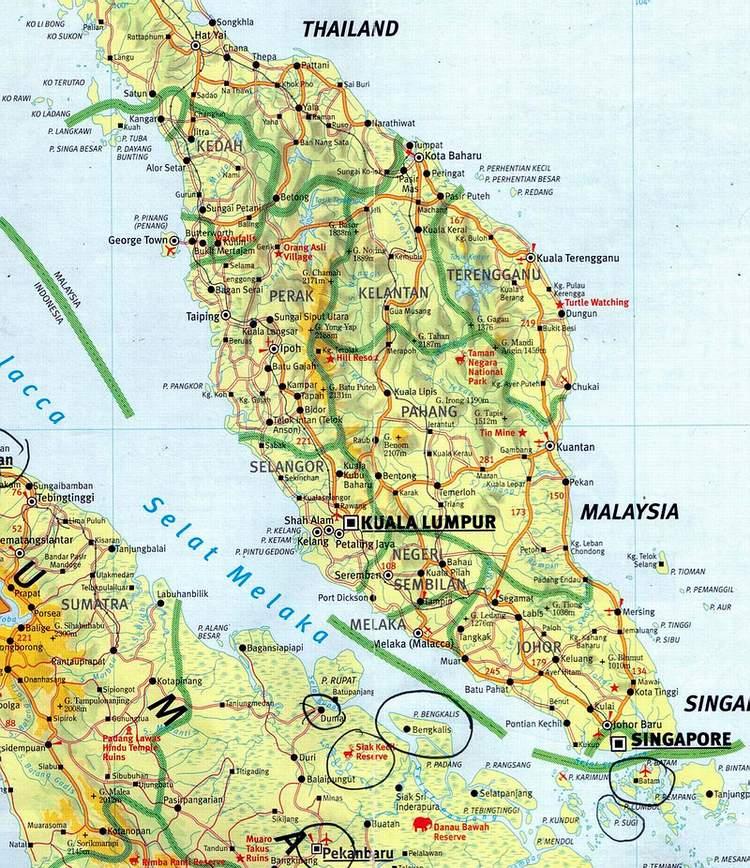 Peta Malaysia | Car Interior Design
